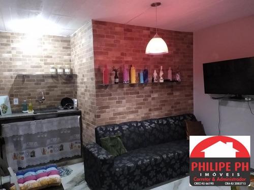 Apartamento Tipo Kit Net Próximo A Praia Da Pitória! - 812