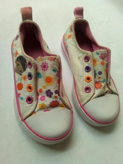 Zapatillas Disney Nena Plantilla 16 Cm. Muy Buen Estado