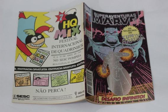 Hq Superaventuras Marvel N°153 Desafio Infinito Ed. Abril