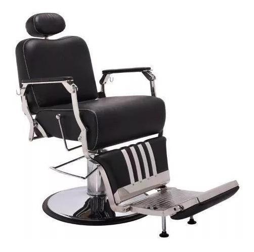 Cadeira De Barbeiro Picasso Reclinável Terra Santa