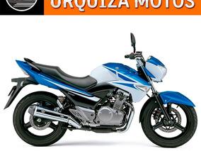 Moto Suzuki Inazuma 250 0km Dominar Tnt Urquiza Azul