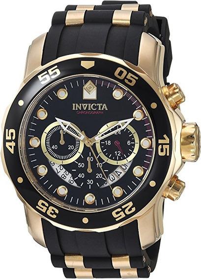 Relógio Invicta Pro Driver 6981, Pulseira De Borracha