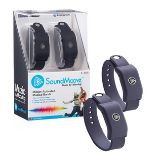 Pulseras Sound Moovz Color Negro Para Bailar 66005 Full