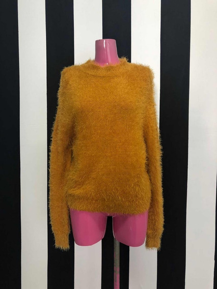 Sweter Mostaza Peludito