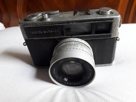 Câmera Fotográfica Antiga Taron Auto-el Leia Descrição