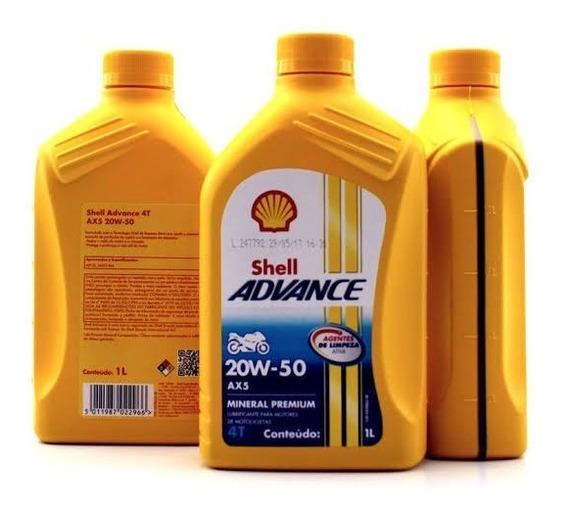 Oleo Shell 20w50 Mineral Cx Com 12
