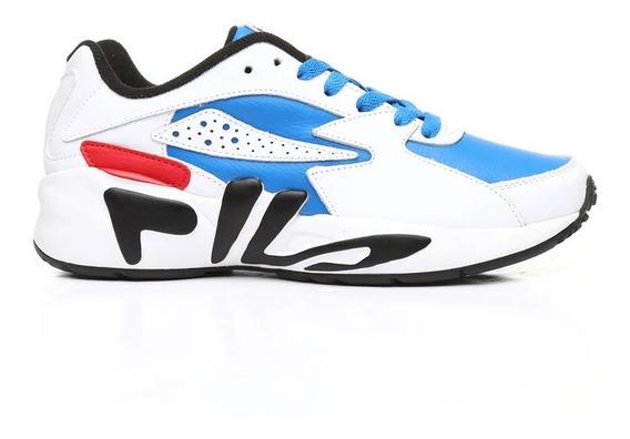 Tenis Fila Mindblower Blanco/azul 1rm00566-430 Fl0245