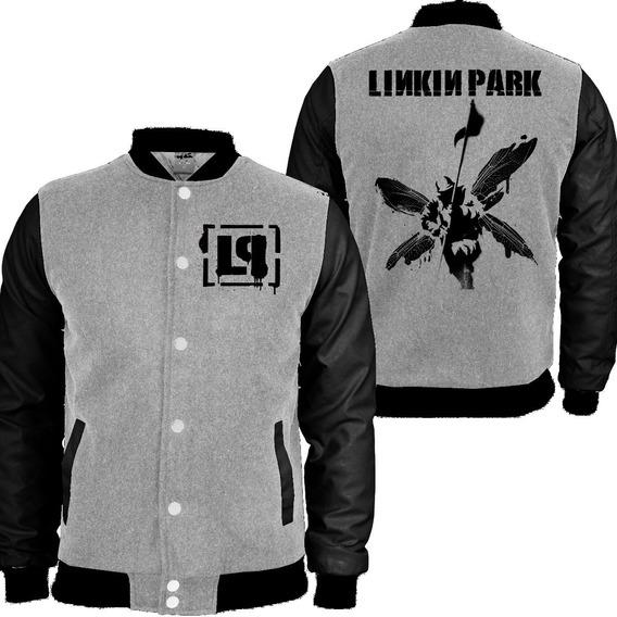 Casaco Moletom Linkin Park College Blusa Moleton Top Mthiago