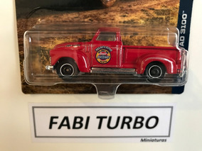 Matchbox 2018 - 47 Chevy Ad 3100 Chevrolet 100 Anos