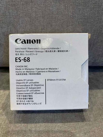 Parasol Canon Es-68 Original Perfeito Caixa 50mm F/1.8 Stm