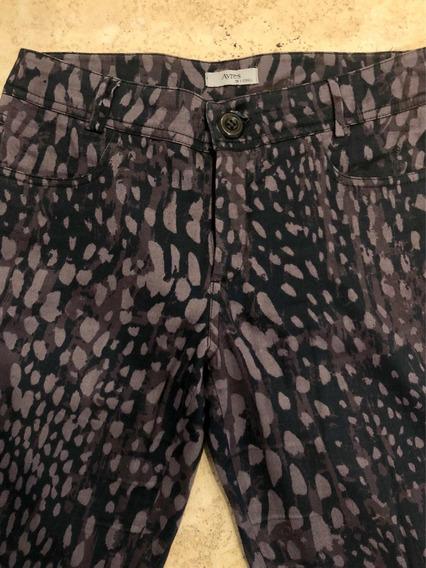 Pantalón De Vestir De Leopardo Marca Ayres