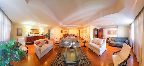 Apartamento Com 4 Dormitórios Para Alugar, 241 M² Por R$ 6.000,00 - Copacabana - Rio De Janeiro/rj - Ap2068