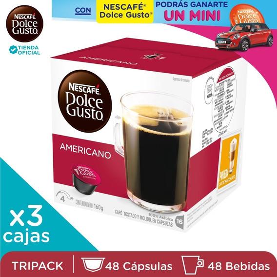 Nescafé® Dolce Gusto® Americano X 3 Cajas