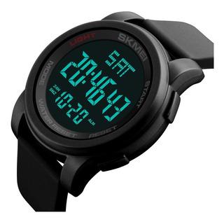 Reloj Cronometro Hombre Skmei 1257 Deportivo Led Alarma