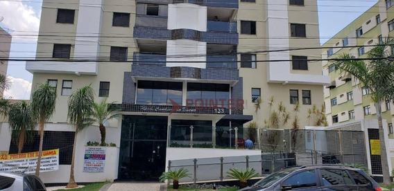 Apartamento Para Alugar Mobiliado Com 3 Suítes, Ed. Candeias Do Bueno, 105 M² Por R$ 2.800/mês - St Bueno - Goiânia/go - Ap0095