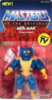 Merman Mer Man Super 7 Neo Vintage He Man Motu Rosario