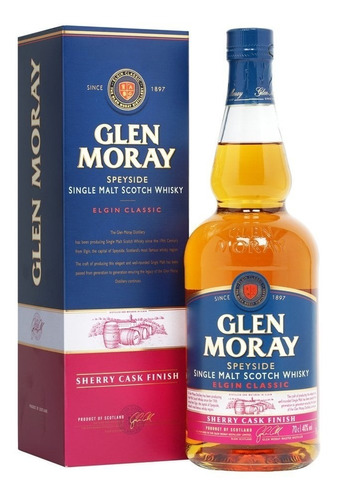 Imagen 1 de 1 de Glen Moray Sherry Cask Finish 700 Ml