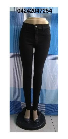 Pantalones Jeans Strech De Damas