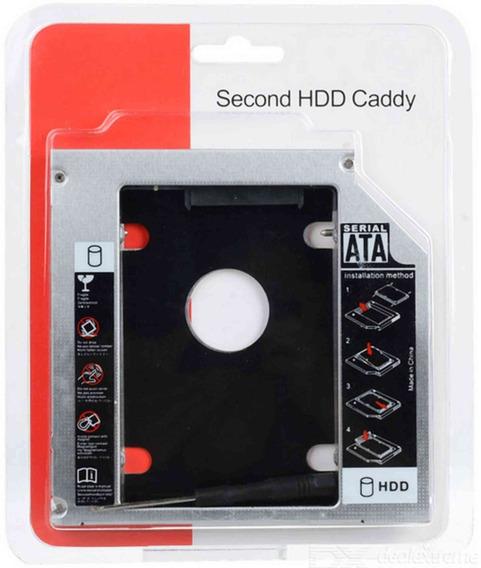 Adaptador Universal Caddy 2º Hd Ssd/dvd P/notebook 12mm