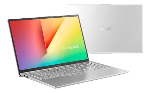 Notebook Asus, 8ªger. Core I5 8265u, 8gb 1tb,15 , W10, Prata