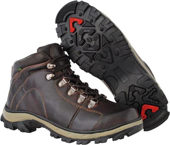 Bota Adventure Babilônia Df Boots Caqui