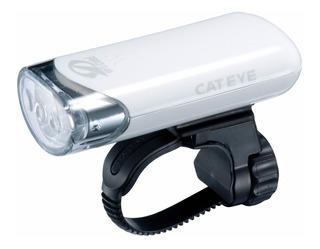 Farol Bicicleta Cateye Hl El135 3 Leds Luz Branca Cor Branco