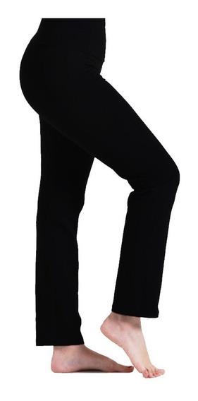 Calzas Recta Tiro Alto 100% Lycra Mujer Talle Standar Xs-xx