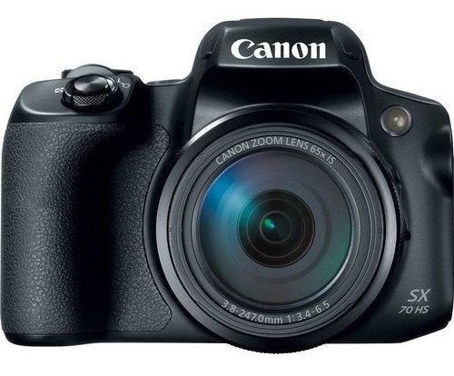 Canon Powershot Sx70 Hs 20,3 4k Wi-fi 65x Zoom Garantia Nfe