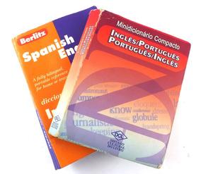 Par De Dicionario Portugues Ingles E Espanhol B5278