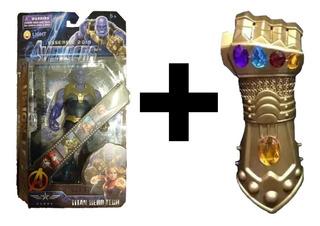 Combo Guante De Thanos + Thanos Muñeco Infinity War