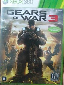 Gears Of War 3 Xbox 360 Original , Leia A Descrição