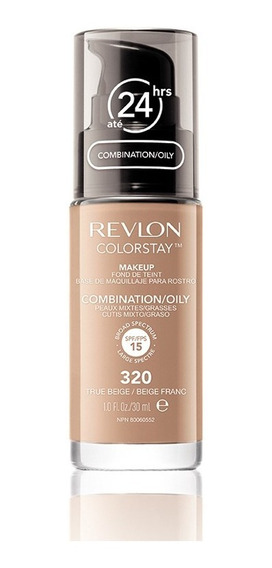 Base Líquida Colorstay Pump Oily Skin True Beige 320 30ml