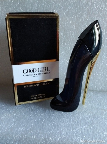 Perfume Miniatura Good Girl Edp (toda Preta) Car Herrera!lançamento!