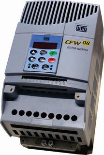 Inversor De Frequência Cfw08 3cv 10a 220v Weg Mono/trif.