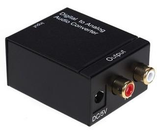 Convertidor De Audio Optico Digital A Rca / 3899
