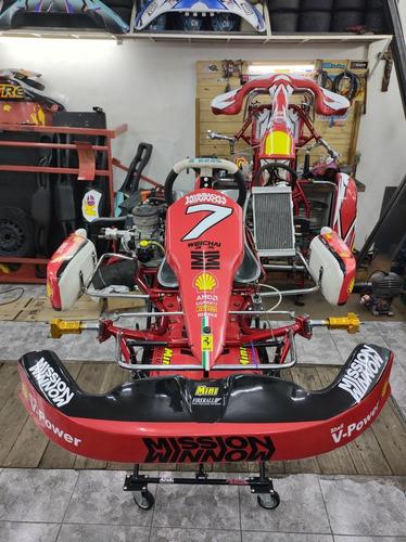 Imagen 1 de 14 de Kart Mini Karting 125 Cc 30 Hp Aguatero