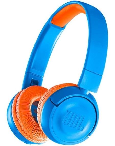Fone De Ouvido Infantil Jbl Jr300 Bluetooth Limitador Volume