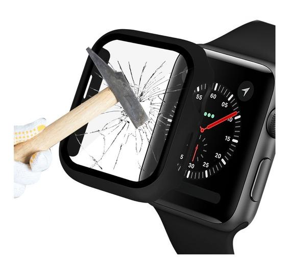 Protector Case Cristal Templado Apple Watch Series 5 4 3 2 1