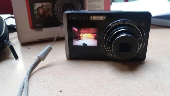 Cámara Fotos Samsung St500 Color Negro (detalle En Lcd)