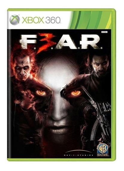 F.e.a.r. 3 Xbox 360 Mídia Física Pronta Entrega