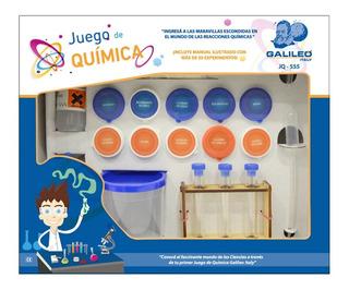 Juego De Quimica Galileo Con Manual Para Experimentos Jq-555