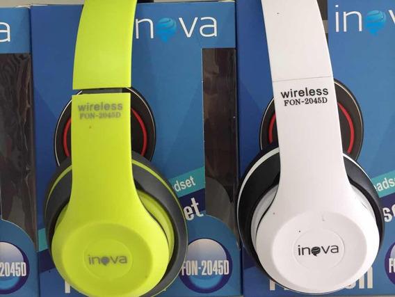 Fone De Ouvido Inova Wireless