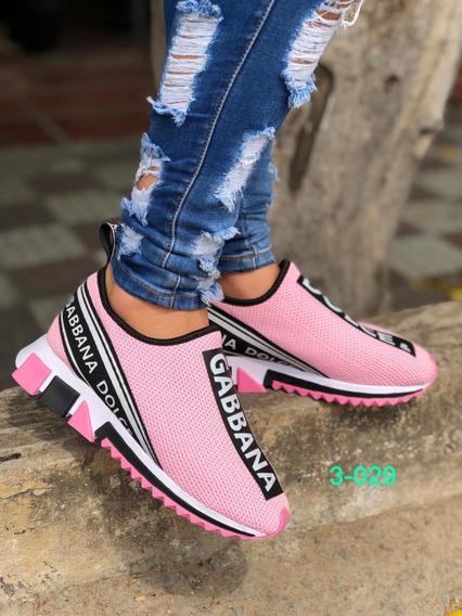 Lindos Shoes Tenis Zapatillas Nuevo Modelo Estilo Dama