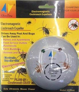 Repelente Ultrasonico De Mosquitos, Zancudos 20m Cuadrados