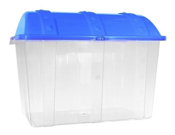 Caixa Container Bau Organizadora De Brinquedos