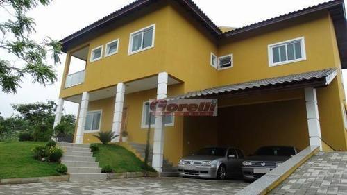 Casa Com 4 Dormitórios À Venda, 430 M² Por R$ 1.500.000,00 - Reserva Ibirapitanga - Santa Isabel/sp - Ca1150