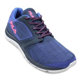 Fila Tênis Feminino Calçado Lançamento Azul Rosa Sapato
