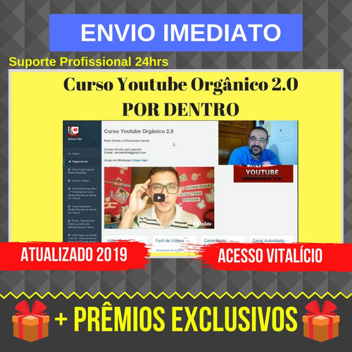 Youtube Orgânico 2.0 - 2019