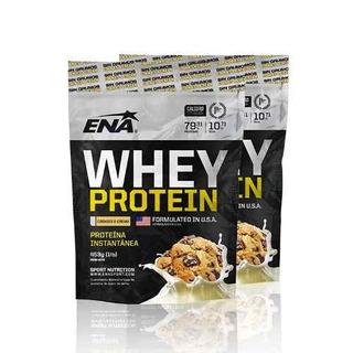 Proteina Whey Protein Cookies Cream Ena 453grs - Racer Bikes