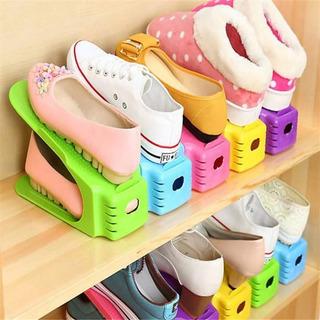 Lote 6 Pzas Double Organizador De Zapatos Envío Gratis